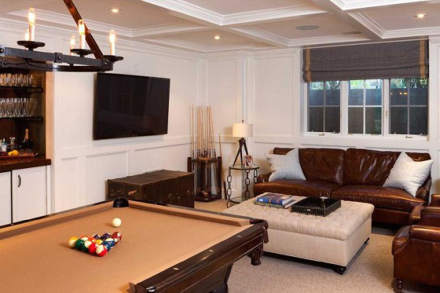 Best ideas about Great Basement Ideas . Save or Pin 18 Great Basement Design Ideas and Creative Solutions Now.