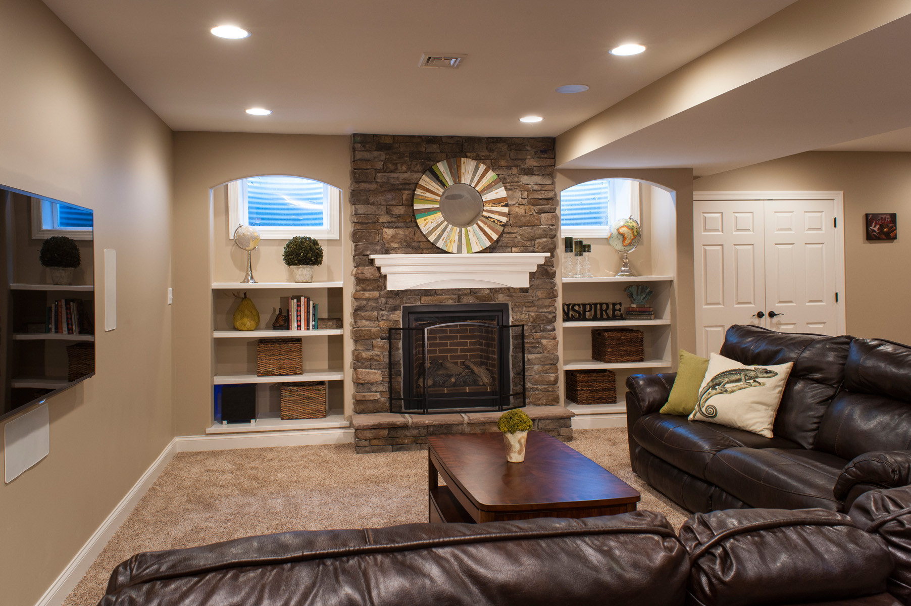 Best ideas about Great Basement Ideas . Save or Pin Basement Remodelling Ideas talentneeds Now.