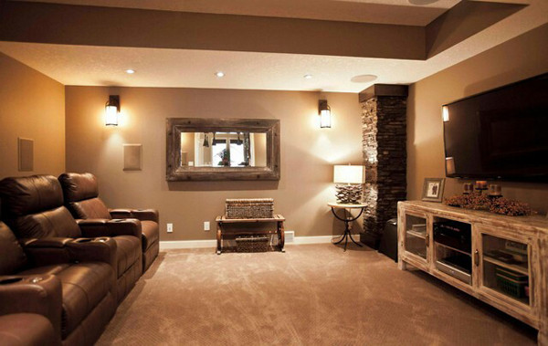 Best ideas about Great Basement Ideas . Save or Pin Basement Ideas With Entertainment Area Now.