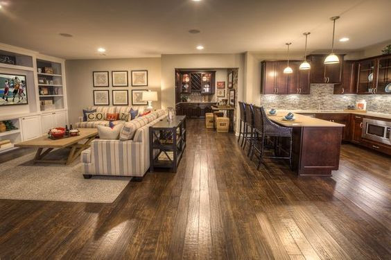 Best ideas about Great Basement Ideas . Save or Pin Finished Basement Ideas Cool Basements Now.