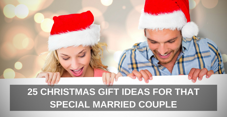 Best ideas about Great Couple Gift Ideas For Christmas . Save or Pin 25 CHRISTAMS GIFT IDEAS FOR THAT SPECIAL MARRIED COUPLE Now.