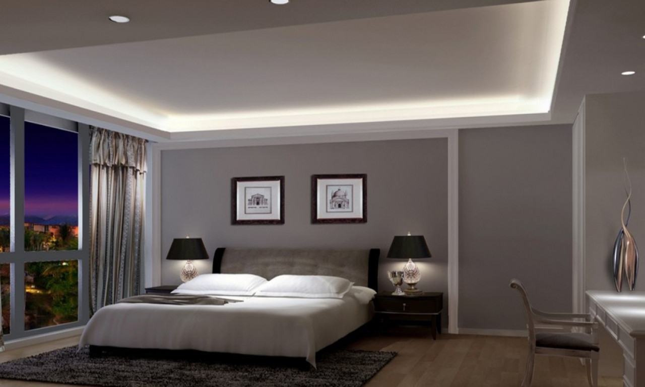 Best ideas about Grey Accent Wall Bedroom . Save or Pin Modern grey bedroom gray wall bedroom grey with accent Now.