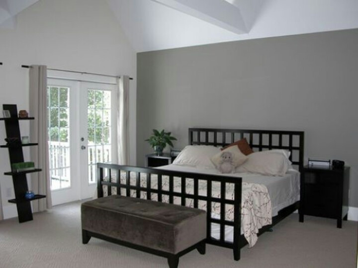 Best ideas about Grey Accent Wall Bedroom . Save or Pin Gray accent wall Bedroom Ideas Pinterest Now.