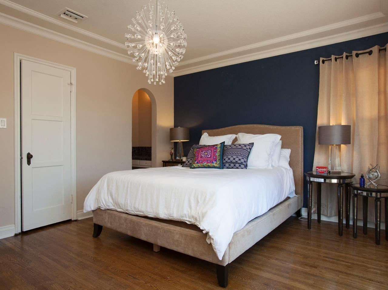 Best ideas about Grey Accent Wall Bedroom . Save or Pin Bedroom Grey Accent Walls Chocolate And The Pastel Palette Now.