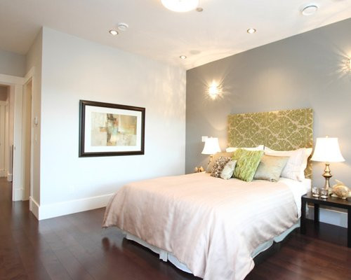 Best ideas about Grey Accent Wall Bedroom . Save or Pin Gray Accent Wall Home Design Ideas Remodel and Now.