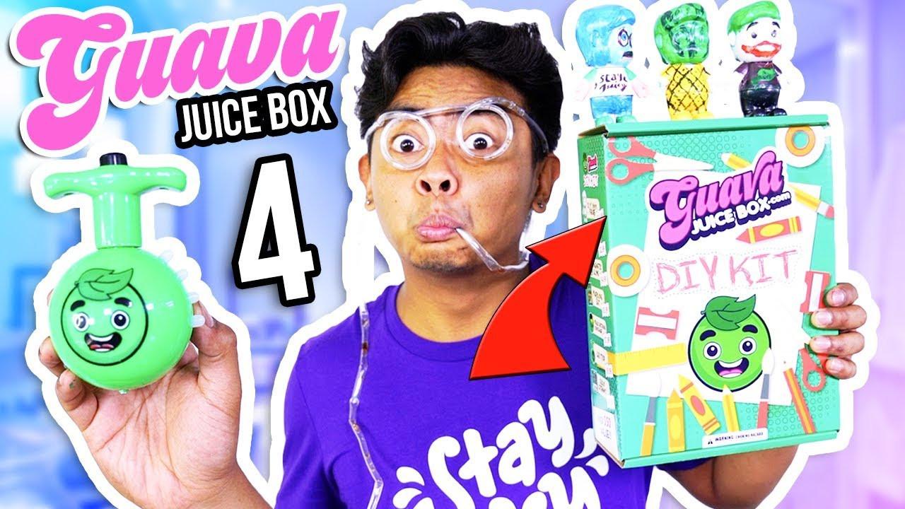 Best ideas about Guava Juice Box DIY Kit . Save or Pin NEW Guava Juice Box DIY Kit Edition UNBOXING Now.