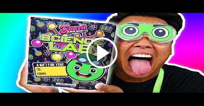 Best ideas about Guava Juice Box DIY Kit . Save or Pin NEW GUAVA JUICE BOX Science Lab Kit Unboxing Cronvideo Now.