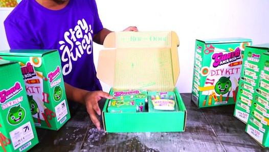 Best ideas about Guava Juice Box DIY Kit . Save or Pin NEW Guava Juice Box DIY Kit Edition UNBOXING Video Now.