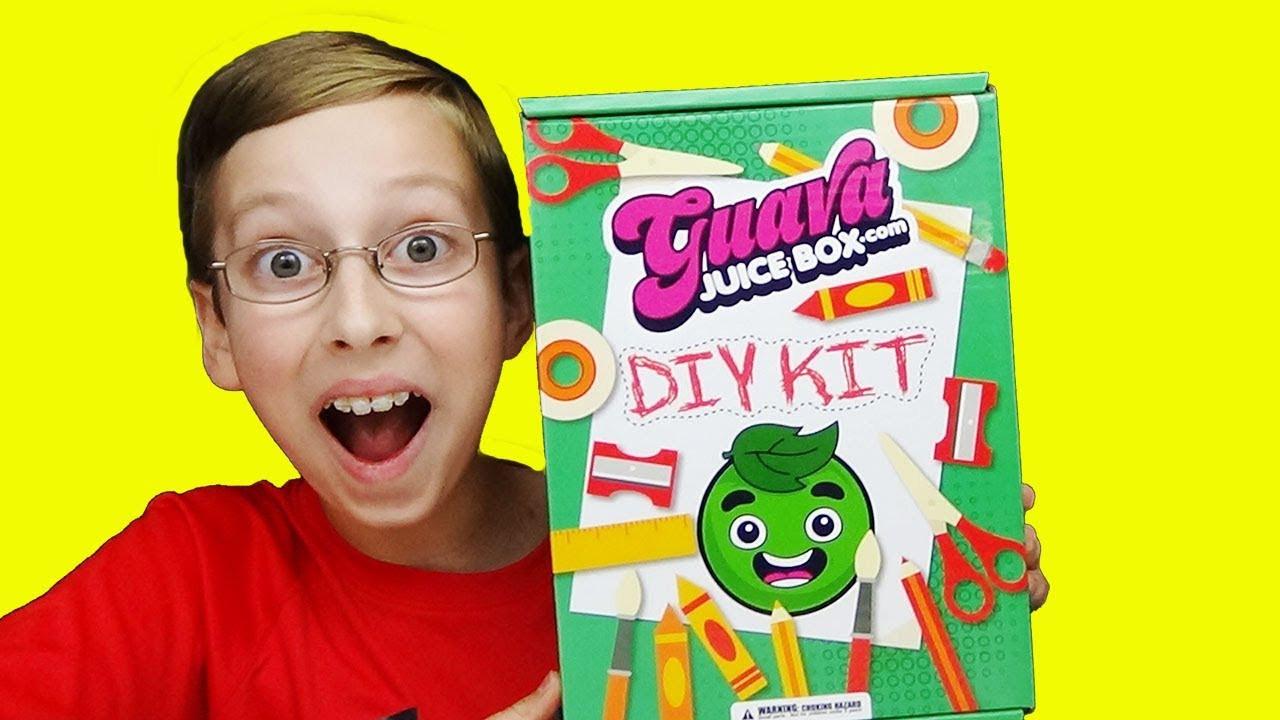 Best ideas about Guava Juice Box DIY Kit . Save or Pin GUAVA JUICE BOX 4 UNBOXING DIY KIT WITH COLLINTV Now.
