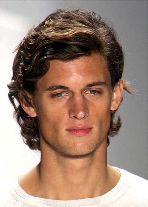Best ideas about Guys Medium Hairstyles . Save or Pin 10 Thick Curly Hair Men Now.