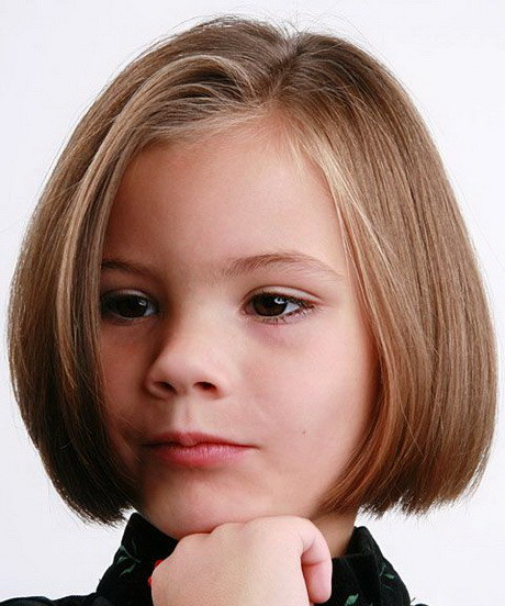 Best ideas about Haircuts For Kids Girls . Save or Pin Hairstyles for kids girls short hair Now.
