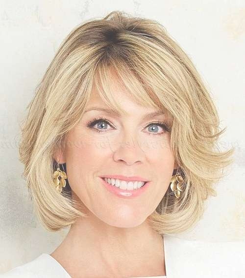 Best ideas about Haircuts For Women In Their 50S . Save or Pin 2018 Popular Medium Haircuts For Women In Their 50S Now.