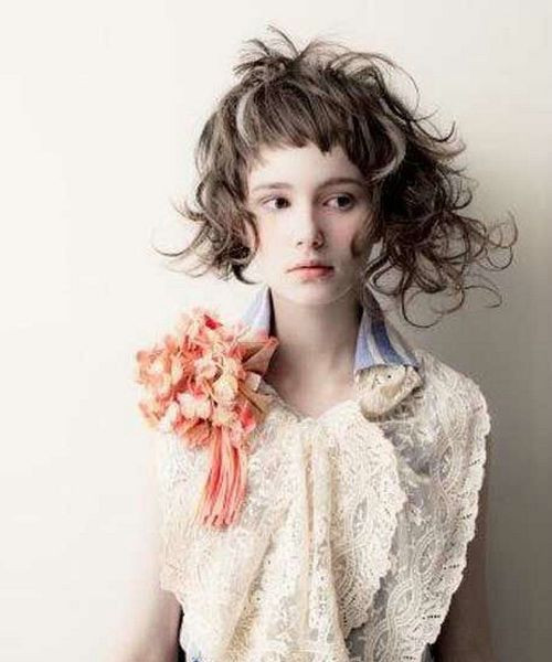 Best ideas about Hairstyle Ideas For Medium Hair . Save or Pin Crazy short hair Now.