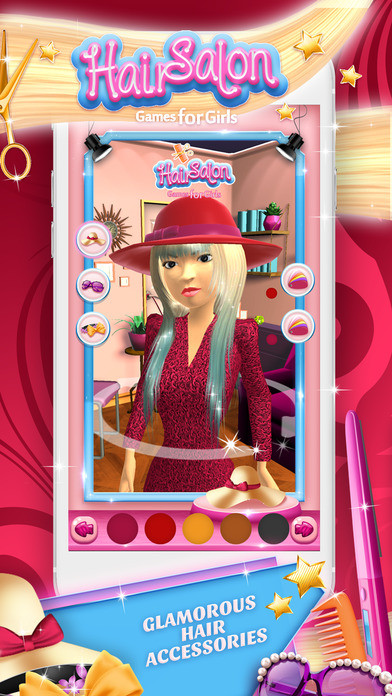 Best ideas about Hairstyle Salon Games For Girls . Save or Pin Hair Salon Games for Girls Virtual Hairstyle s Studio and Now.