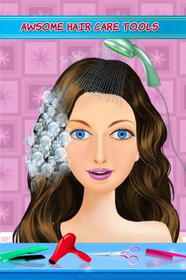 Best ideas about Hairstyle Salon Games For Girls . Save or Pin Hair Style Salon Girls Games Android Apps on Google Play Now.