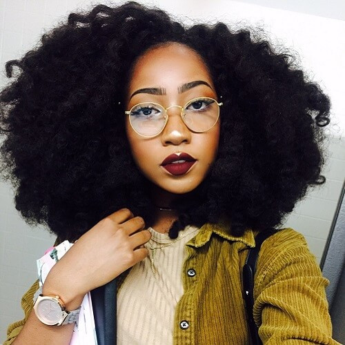 Best ideas about Hairstyles For Medium Length Natural Hair . Save or Pin 50 Cute Natural Hairstyles for Afro textured Hair Now.