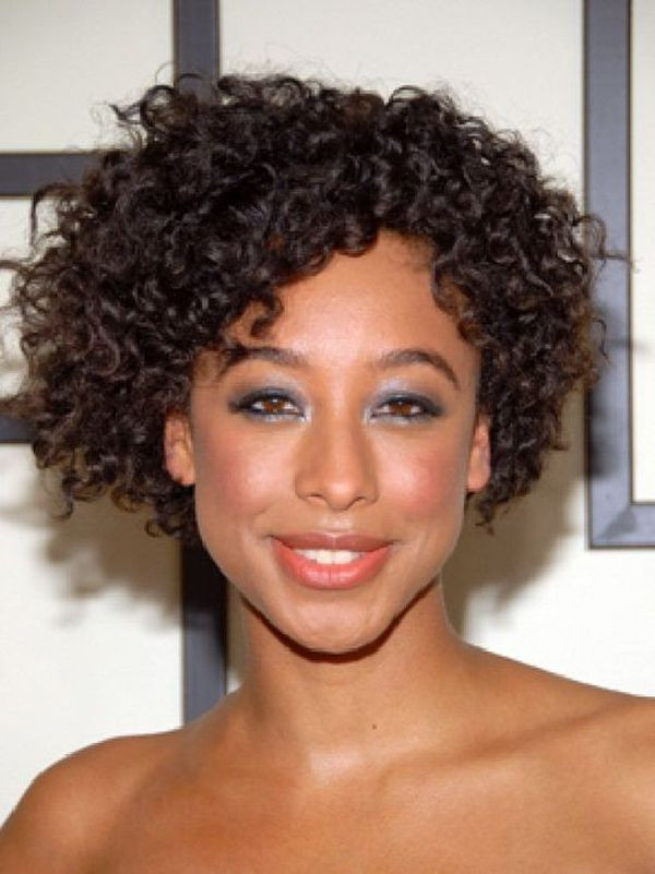 Best ideas about Hairstyles For Medium Length Natural Hair . Save or Pin Curly haircuts black natural curly hairstyles Now.