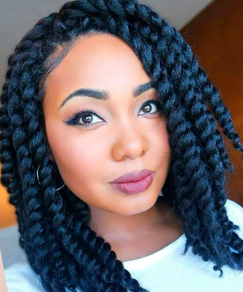 Best ideas about Hairstyles For Medium Length Natural Hair . Save or Pin Natural hairstyles for African American women and girls Now.
