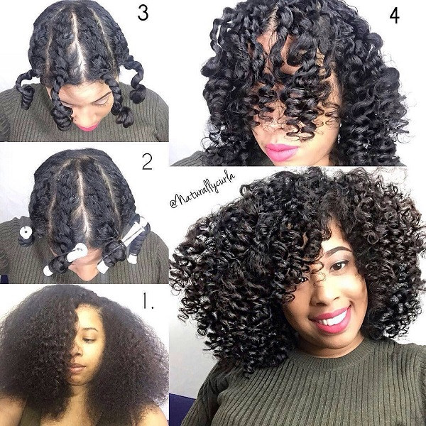 Best ideas about Hairstyles For Medium Length Natural Hair . Save or Pin 5 Gorgeous Natural Styles for Medium Length Hair Now.