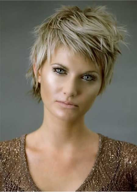 Best ideas about Hairstyles For Short Thick Hair . Save or Pin 14 Great Short Hairstyles for Thick Hair Pretty Designs Now.