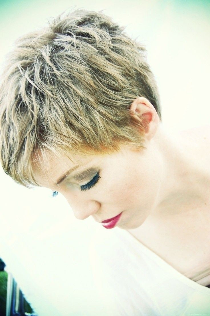 Best ideas about Hairstyles For Short Thick Hair . Save or Pin 20 Layered Short Hairstyles for Women Now.