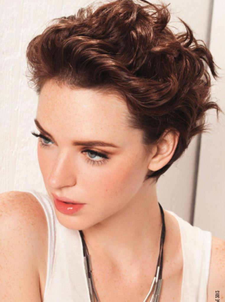 Best ideas about Hairstyles For Short Thick Hair . Save or Pin 40 Beautiful Short Hairstyles for Thick Hair Now.