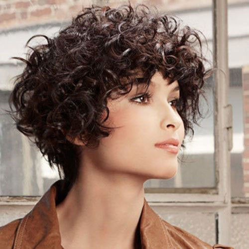 Best ideas about Hairstyles For Thick Curly Hair . Save or Pin 16 Short Hairstyles for Thick Curly Hair crazyforus Now.