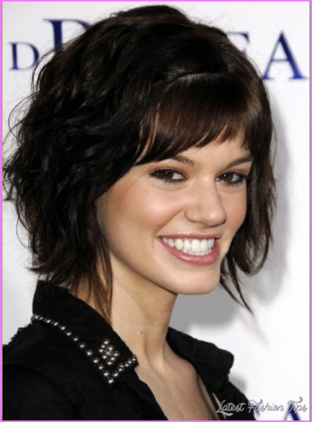 Best ideas about Hairstyles For Thick Curly Hair . Save or Pin Short haircuts thick curly hair LatestFashionTips Now.