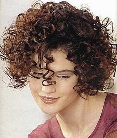 Best ideas about Hairstyles For Thick Curly Hair . Save or Pin Short Hairstyles For Curly Frizzy Hair Now.