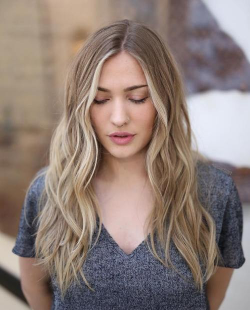 Best ideas about Hairstyles For Thinning Long Hair . Save or Pin 40 Picture Perfect Hairstyles for Long Thin Hair Now.