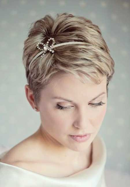 Best ideas about Hairstyles For Wedding Short Hair . Save or Pin Short Hair Wedding Styles Now.
