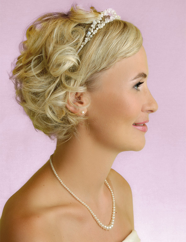 Best ideas about Hairstyles For Wedding Short Hair . Save or Pin Wedding Hairstyles for Women With Short Hair Women Now.
