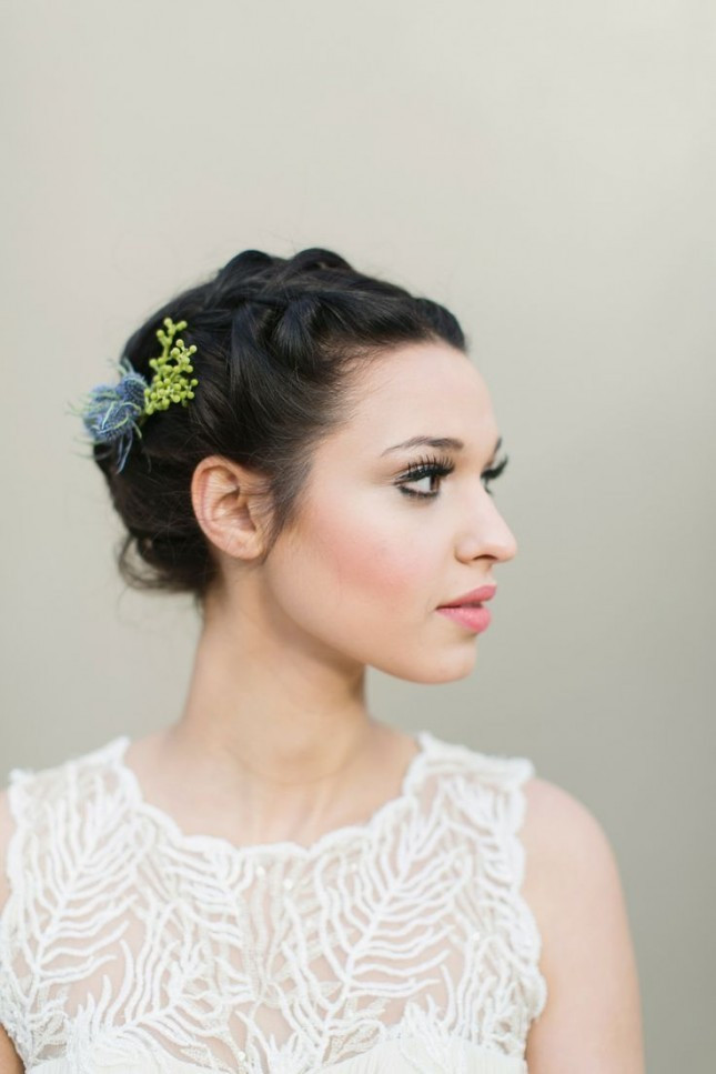 Best ideas about Hairstyles For Wedding Short Hair . Save or Pin 23 Perfect Short Hairstyles for Weddings Bride Hairstyle Now.