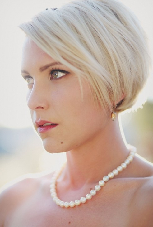 Best ideas about Hairstyles For Wedding Short Hair . Save or Pin 10 Wedding Hairstyles 2014 for Short Hair PoPular Haircuts Now.