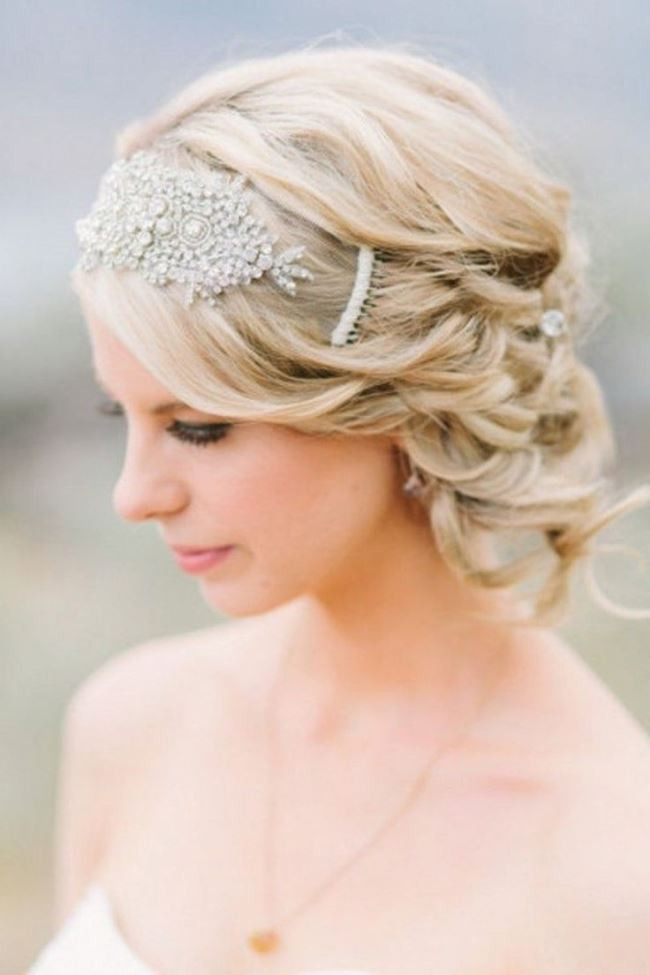 Best ideas about Hairstyles For Wedding Short Hair . Save or Pin Best Hairstyles For Short Hair For Wedding Day 2017 For Events Now.
