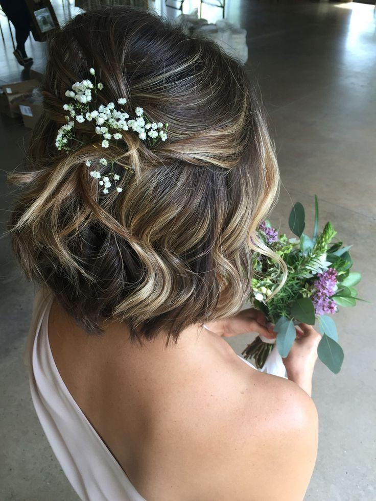 Best ideas about Hairstyles For Wedding Short Hair . Save or Pin 15 Collection of Hairstyles For Brides With Short Hair Now.