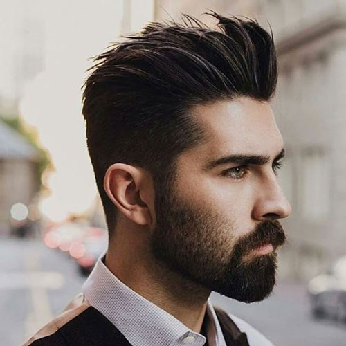 Best ideas about Hairstyles For Widows Peak Male . Save or Pin 37 Best Widow s Peak Hairstyles For Men 2019 Guide Now.
