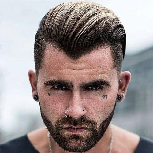 Best ideas about Hairstyles For Widows Peak Male . Save or Pin 50 Smart Hairstyles for Men with Receding Hairlines Men Now.
