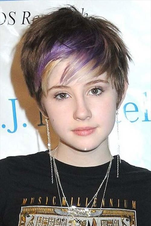 Best ideas about Hairstyles Teenagers Girls . Save or Pin 45 Funky Hairstyles for Teenage Girls To Try This season Now.