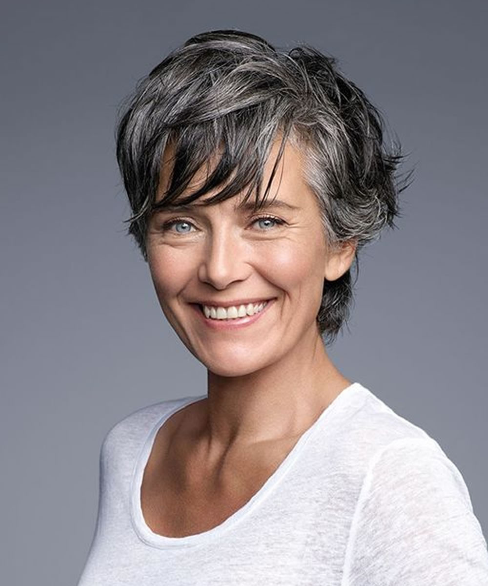 Best ideas about Hairstyles Women Over 50 . Save or Pin 2018 Haircuts&Hairstyles for Older Women Over 50 Now.