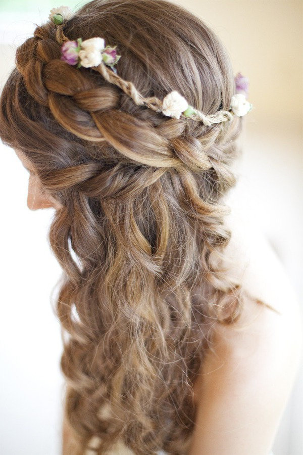 Best ideas about Half Up Half Down Curly Prom Hairstyles . Save or Pin Curly Hairstyles For Prom Half Up Half Down Twist 2018 Now.
