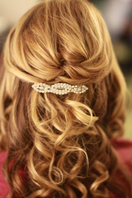 Best ideas about Half Up Half Down Curly Prom Hairstyles . Save or Pin 39 Half Up Half Down Hairstyles To Make You Look Perfect Now.