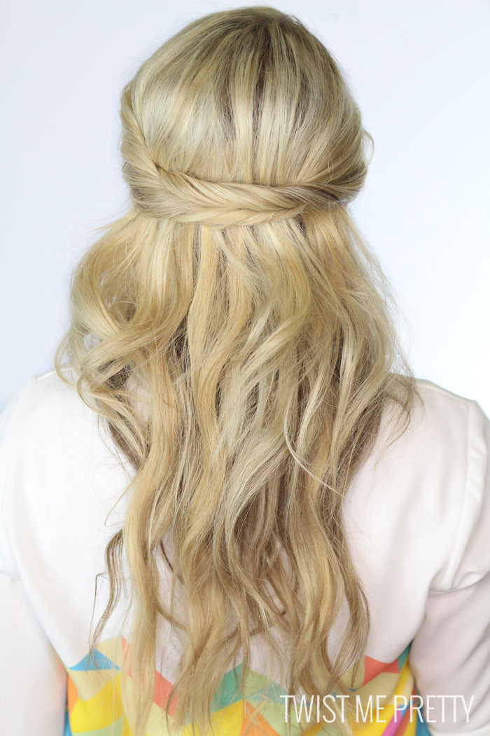 Best ideas about Half Up Half Down Hairstyles For Wedding . Save or Pin The 10 Best Half Up Half Down Wedding Hairstyles Now.
