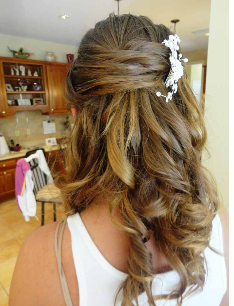 Best ideas about Half Up Half Down Hairstyles For Wedding . Save or Pin Half Up Half Down Wedding Updos Hairstyles For Medium Now.