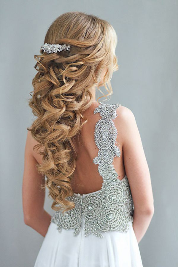 Best ideas about Half Up Half Down Hairstyles For Wedding . Save or Pin 20 Creative Half Up Half Down Wedding Hairstyles – Hi Miss Now.
