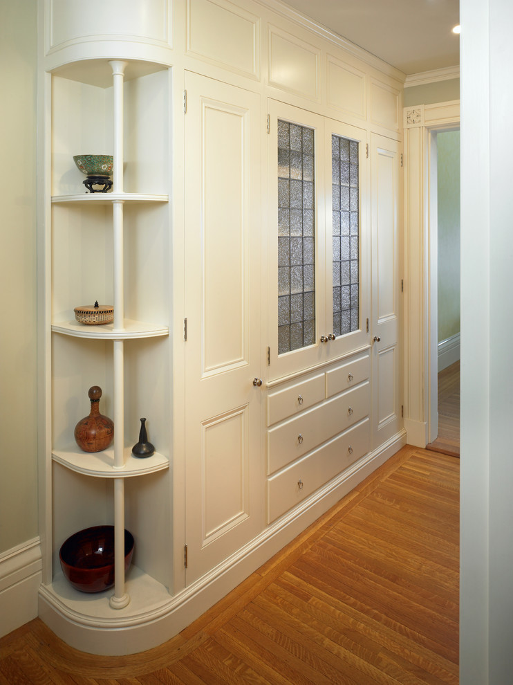 Best ideas about Hall Storage Cabinet . Save or Pin linen closet ideas Bathroom Traditional with accent tiles Now.