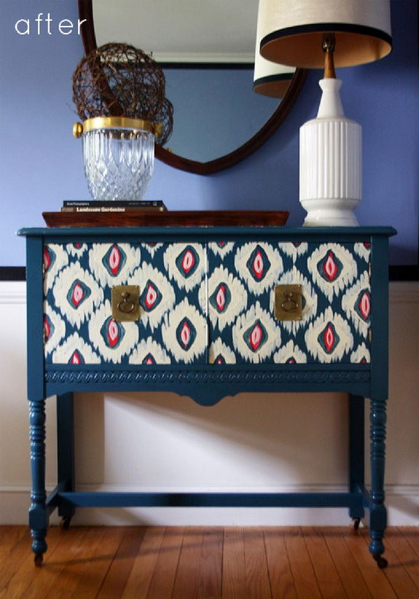 Best ideas about Hand Painted Furniture Ideas . Save or Pin Creative DIY Painted Furniture Ideas Now.