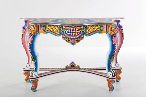 Best ideas about Hand Painted Furniture Ideas . Save or Pin Colorful Hand Painted Furniture by Kare Design Now.