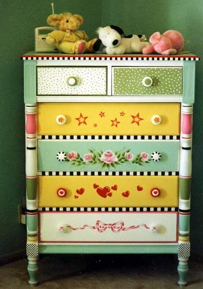 Best ideas about Hand Painted Furniture Ideas . Save or Pin Top 4 Spring Decorating Ideas Pinterest Pinboards Now.