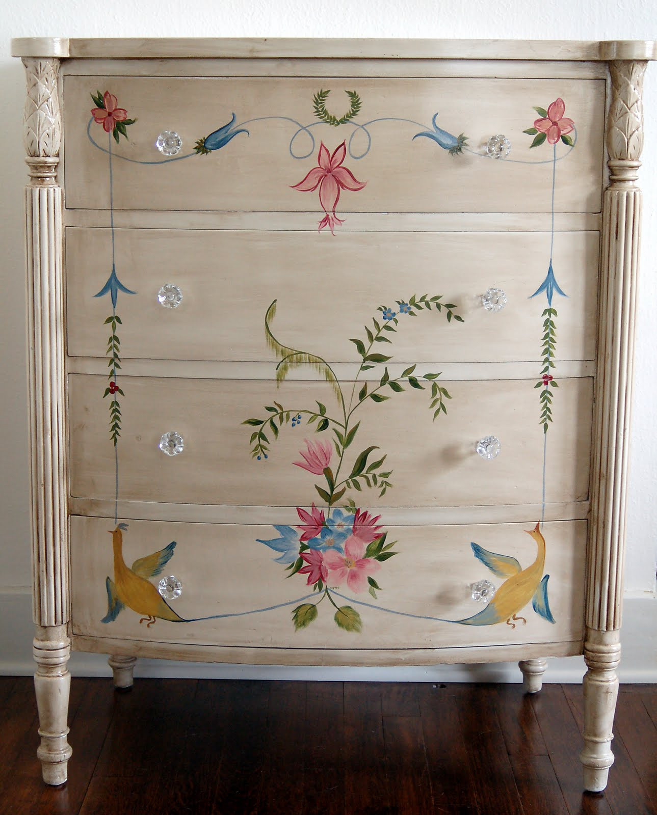 Best ideas about Hand Painted Furniture Ideas . Save or Pin So You Think You Can Decorate Now.